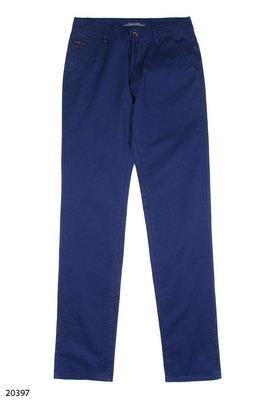 Мужские брюки синего цвета 29 38