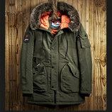 Куртка мужская парка пуховик .осень-Зима-весна 2018
