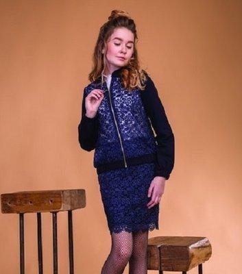 Модный кружевной бомбер для девочки Невия Тм Suzie 116-158