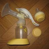 Молокоотсос Medela Harmony Manual Breast Pump двухфазный ручного типа