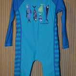 2-3 года. 80-92 см. Dunnes Stores. Солнцезащитный костюм, комбинезон для купания на мальчика.