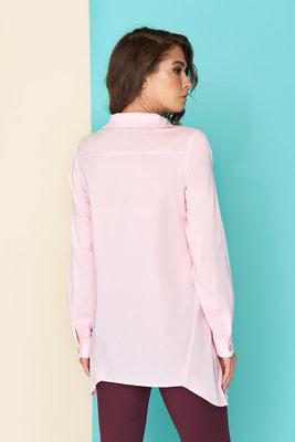 b49aee11055 Оригинальная блуза-рубашка с асимметричной застежкой-планкой 44-54р.  Previous Next