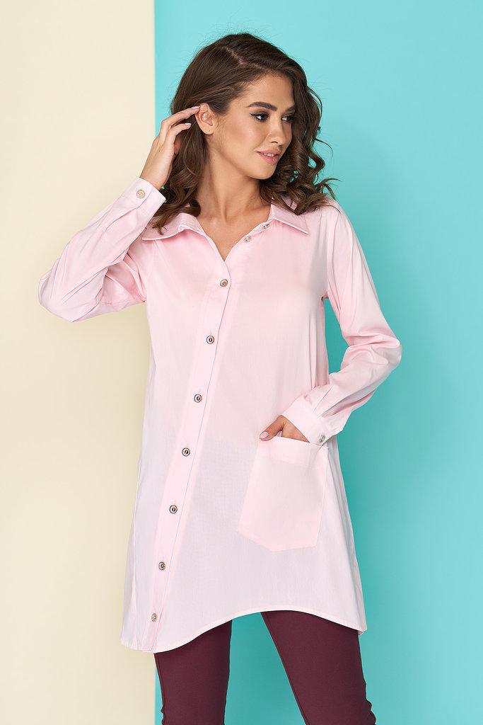 ac50bb675ce Оригинальная блуза-рубашка с асимметричной застежкой-планкой 44-54р  440  грн - рубашки