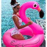 надувной огромный круг Розовый Фламинго-Акция до 7.07