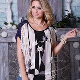 Блуза 46,48,50,52,54,56 размеры 2 цвета