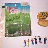 trouble dolls Гватемальские куклы беспокойства коллекционная винтажная кукла куколка маленькая
