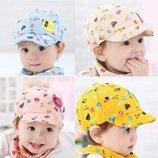 Детская кепка, 42-50, 3 цвета, новая