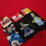 Носки Simpsons and Marvel 39-45 размер
