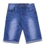 Мужские джинсовые шорты с манжетами 29 30 31 32 33 34 36 38