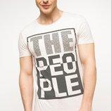 2-36 Мужская футболка DeFacto одежда Турция чоловіча футболка майка мужская одежда