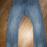 джинсы на резинке F&F на 7-8 лет