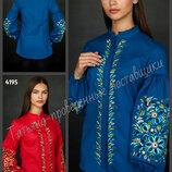 42-54 Нарядная женская вышиванка, Женские вышиванки, блуза с орнаментом, Жіноча вишиванка.