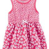 Летнее платье трусики Carters для девочки. Комплект 2-ка 118I223