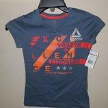 Спортивная футболка для девочки Reebok Kids Performance хлопок