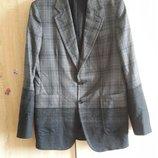 Alexander McQueen шерстяной пиджак, италия, оригинал