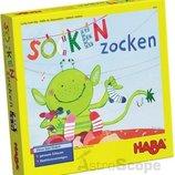 шикарная детская настольная игра Socken Zocken 4465 Haba Германия оригинал