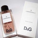 Dolce & Gabbana 3 L imperatrice 100 ml в оригинальном флаконе Магический и пленительный аромат
