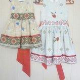 Украинское платье простое