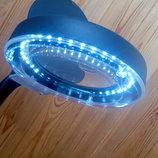 Настольная лампа лупа YX 929 с увеличительной линзой для вышивания рукоделия