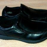 Качественные кожаные туфли,34 размер,Индия.