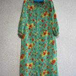 Платье р.50-52, летнее, нарядное, женское зеленое шикарное