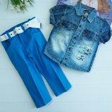 Костюмчик рубашка и штанишки