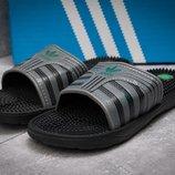 Шлепанцы мужские Adidas FlipFlops, серые