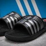 Шлепанцы мужские Adidas FlipFlops, черные