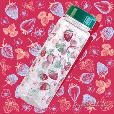 Качественная бутылочка для воды с рисунком Summer Bottle, 500мл, аналог My bottle. Материал Тритан
