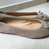 Продам замшевые балетки Pesaro