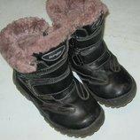 Детские зимние ботинки Y.TOP , р.31