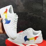 Мужские кроссовки Nike Air Force white