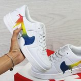 Женские кроссовки Nike Air Force white