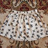 Обалденная стильная юбка Zara на 9 - 10 лет и дольше как новая