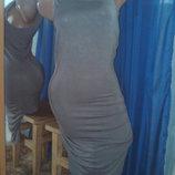Only классное платье из натур. ткани