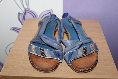 Красивые кожаные босоножки сандалии ellie.d разм 39-40 по стельке 26 см Испания