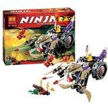 Конструктор Ninja 10318 разрушитель Анакондрай