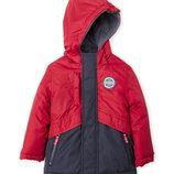 Теплая зимняя детская куртка-трансформер 4 в 1 . Oshkosh размер 4Т