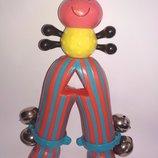 Batat Игрушка для самых маленьких погремушка паук паучек грызун батат