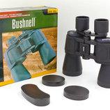 Бинокль Bushnell 0018 с чехлом кратность 20-50х, диаметр объектива 50мм