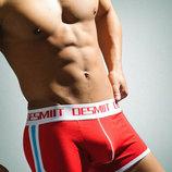 Красные мужские трусы Desmit - 3949