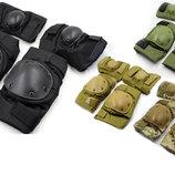 Защита тактическая наколенники, налокотники 4267 4 цвета