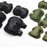 Защита тактическая наколенники, налокотники 4703 3 цвета