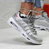 Кроссовки женские Nike 95 silver