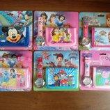 Детский набор часыи кошелек Мики Маус София прекрасная Щенячий патруль Свинка Пеппа принцессы