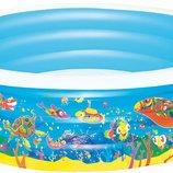 Надувной бассейн Подводный мир Bestway 51121