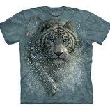 Тигр р. S 4-6 лет 3D футболка The Mountain Оригинал
