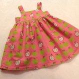Платье на девочку 1-1,5 года.