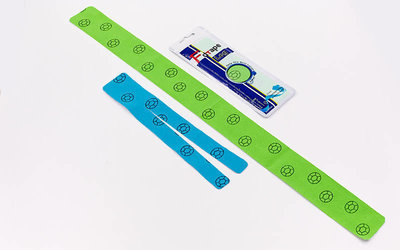Кинезио тейп преднарезанный эластичный пластырь Kinesio tape Leg для ноги