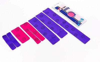 Кинезио тейп преднарезанный эластичный пластырь Kinesio tape Lumbar для поясницы
